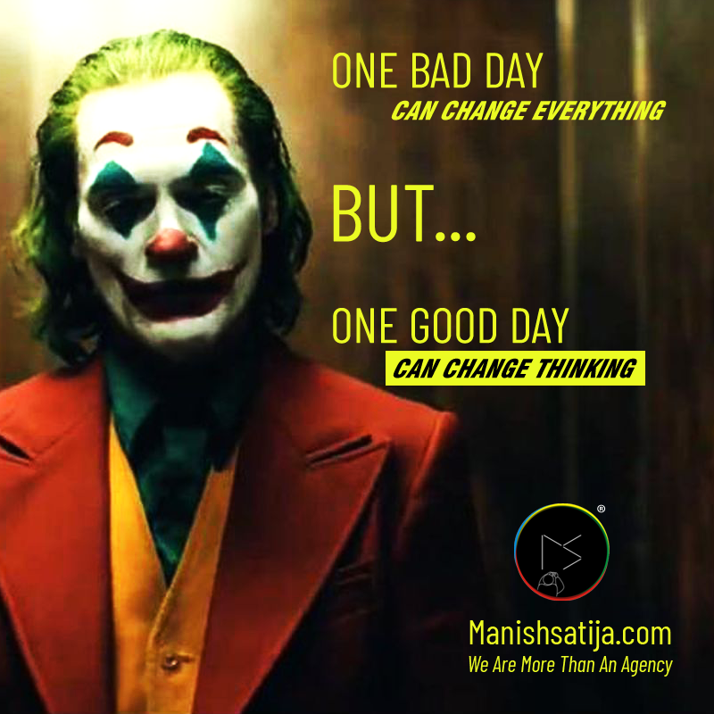 JokerMovie Joker2019 JokerTrailer BadDay GoodDay