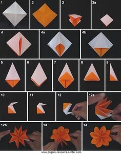Origami flower will learn this giant flowers pinterest origami flower will learn this mightylinksfo