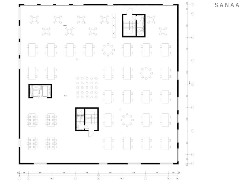 Kazuyo Sejima + Ryue Nishizawa / SANAA, Iwan Baan · Zollverein School of Management and Design