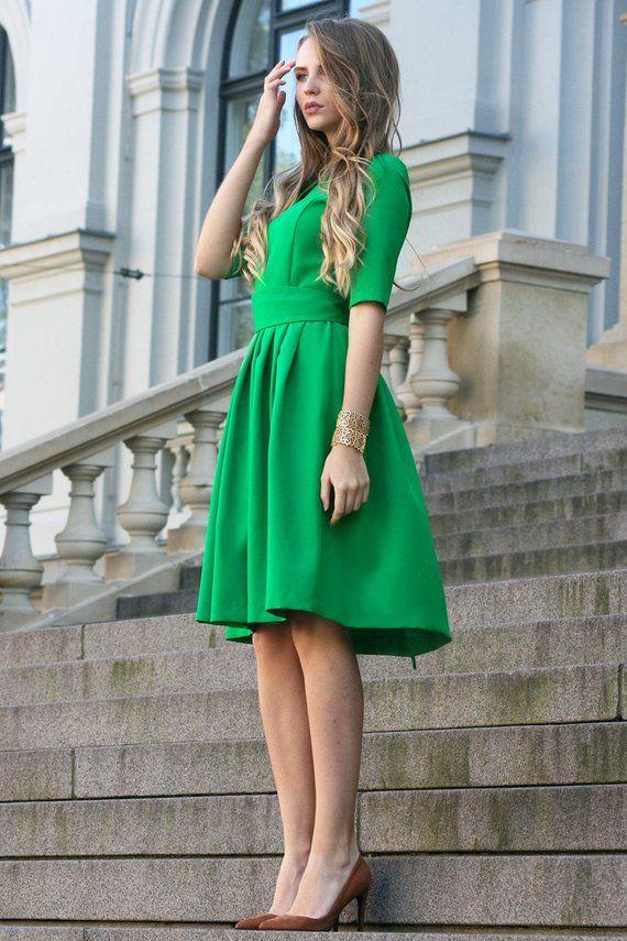 Green Dress 6fa3dcfd9e31