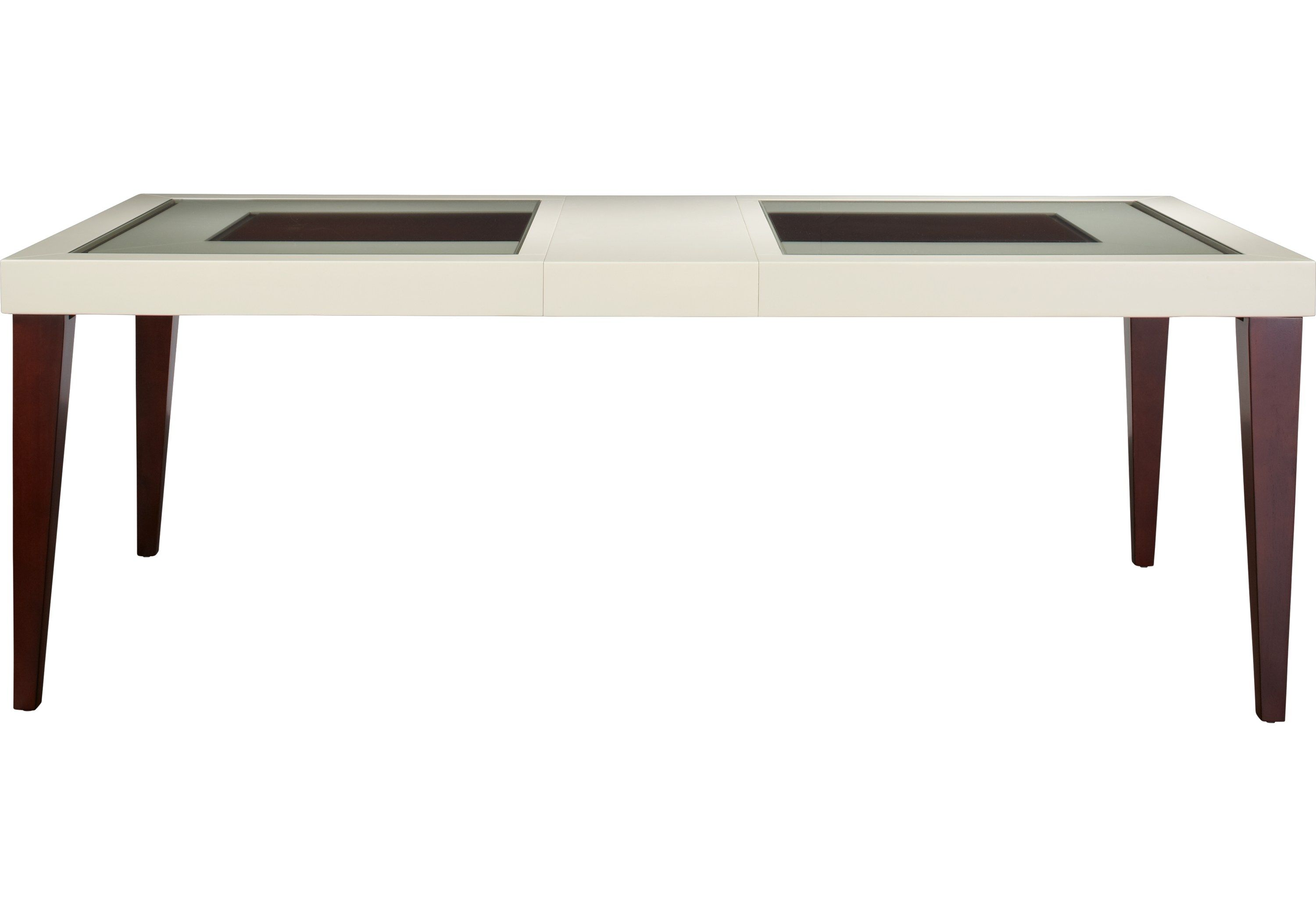 Sofia Vergara Savona Ivory Rectangle Dining Table Rectangle