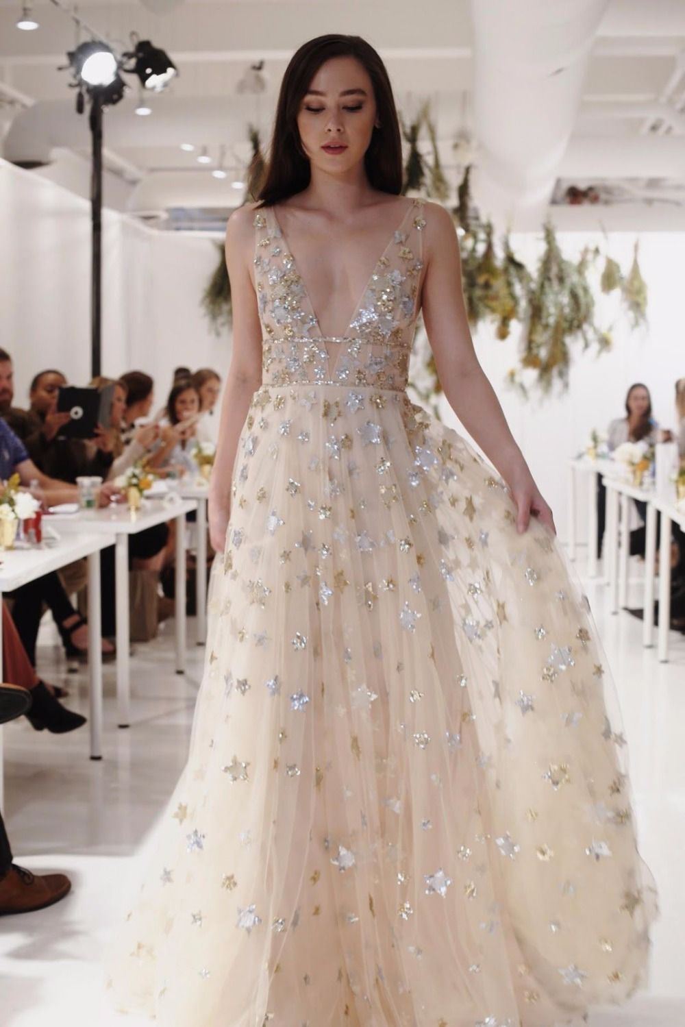 This Star Wedding Dress Is A Celestial Dream Willow By Orion Part Of The Spring 2018 Collection 2018weddingtrend