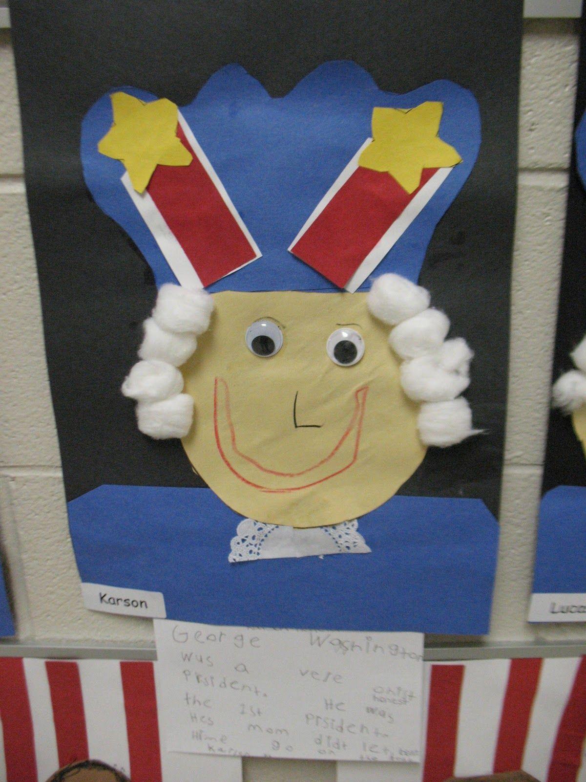 Mrs Morrow S Kindergarten President S Day