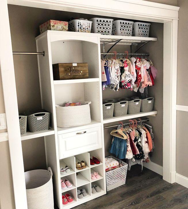 51 Totally Inspiring Kids Closet Organization Ideas images