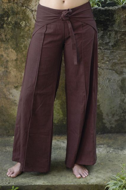 wrap around pant... I remember these from the 70s, I think ...