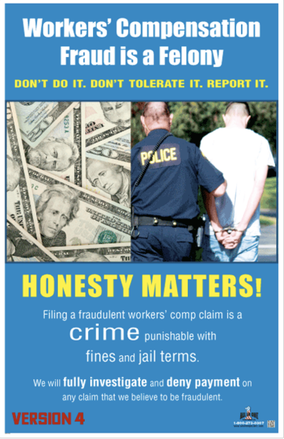 Fraud Prevention Poster Fifthimage Prevention Workplace Safety Fraud