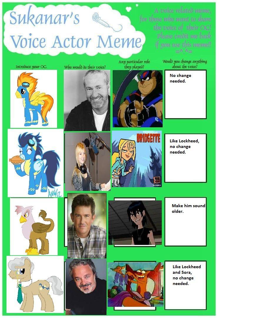 mlp genderswap voice actor
