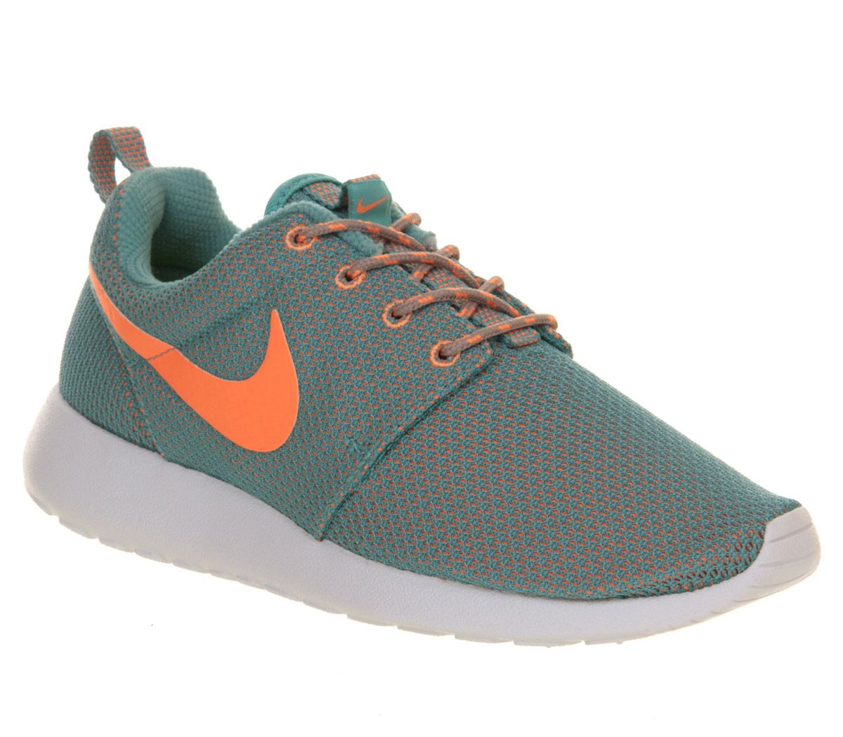 Nike Roshe Courir Vert Orange Atomique