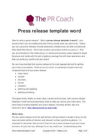 Press Releases Relaciones Publicas Iniciativa Empresarial