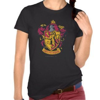 Gryffindor Crest Gold and Red Shirt