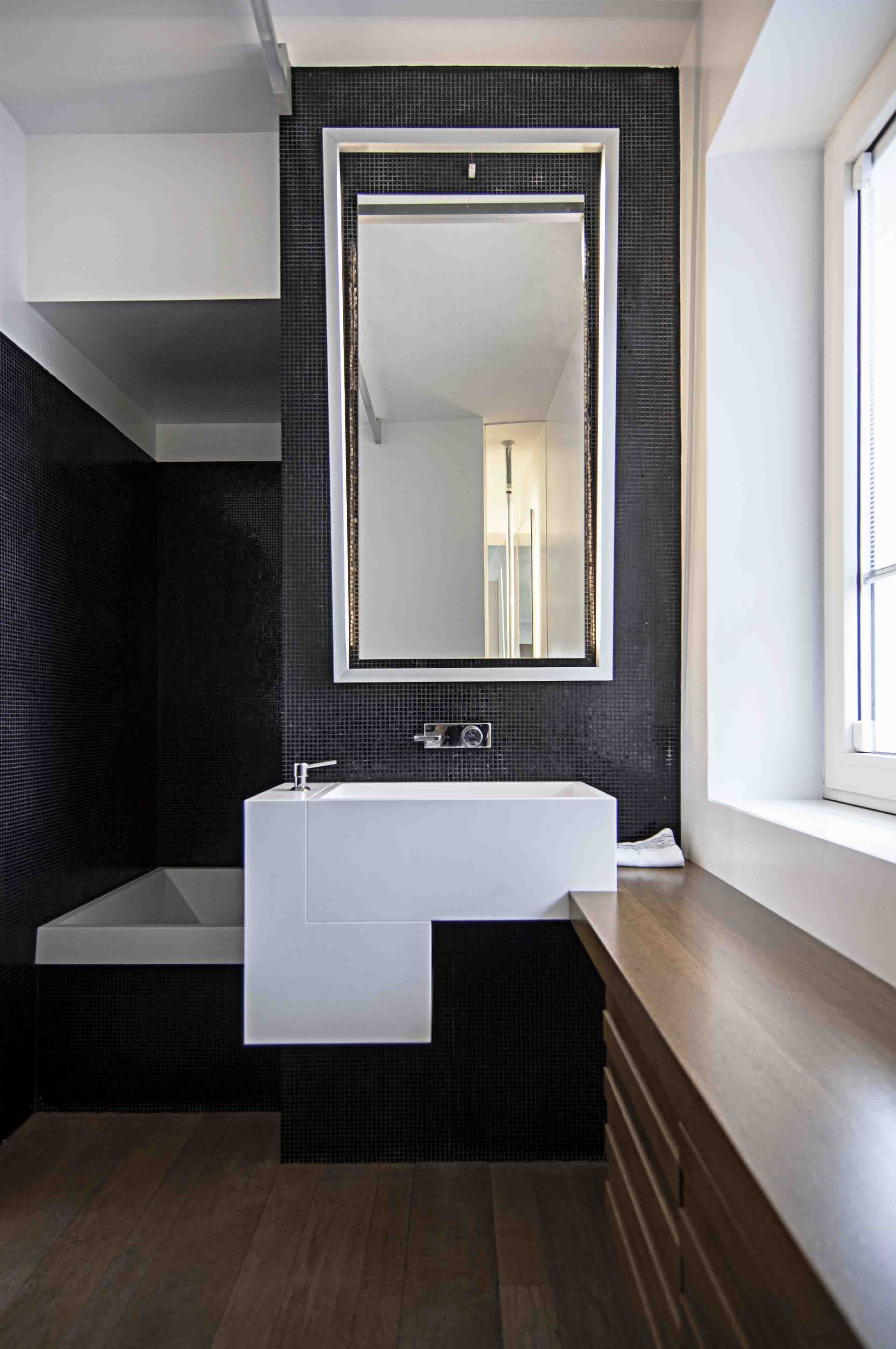 Doccia mosaico trendy mosaico piastrelle di ceramica grigio matt parete doccia pavimento wc - Rivestimento bagno economico ...