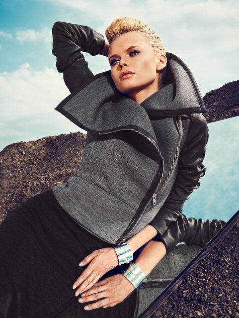 Asymmetrical Moto Jacket 11/2013 #117 | Pinterest | Hände, Nähen und ...