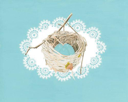 lacey-nest by Melinda♥Josie, via Flickr