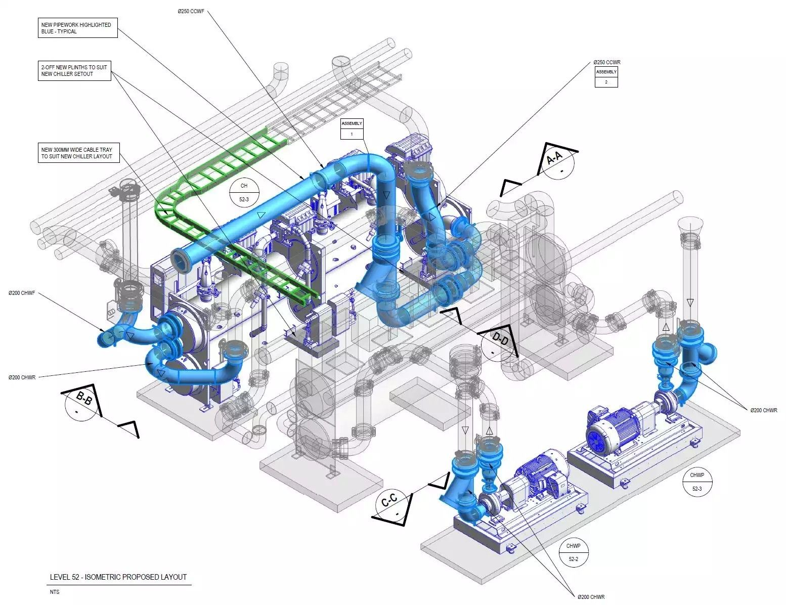 hight resolution of piping and instrumentation diagram building information modeling room with plants revit boiler