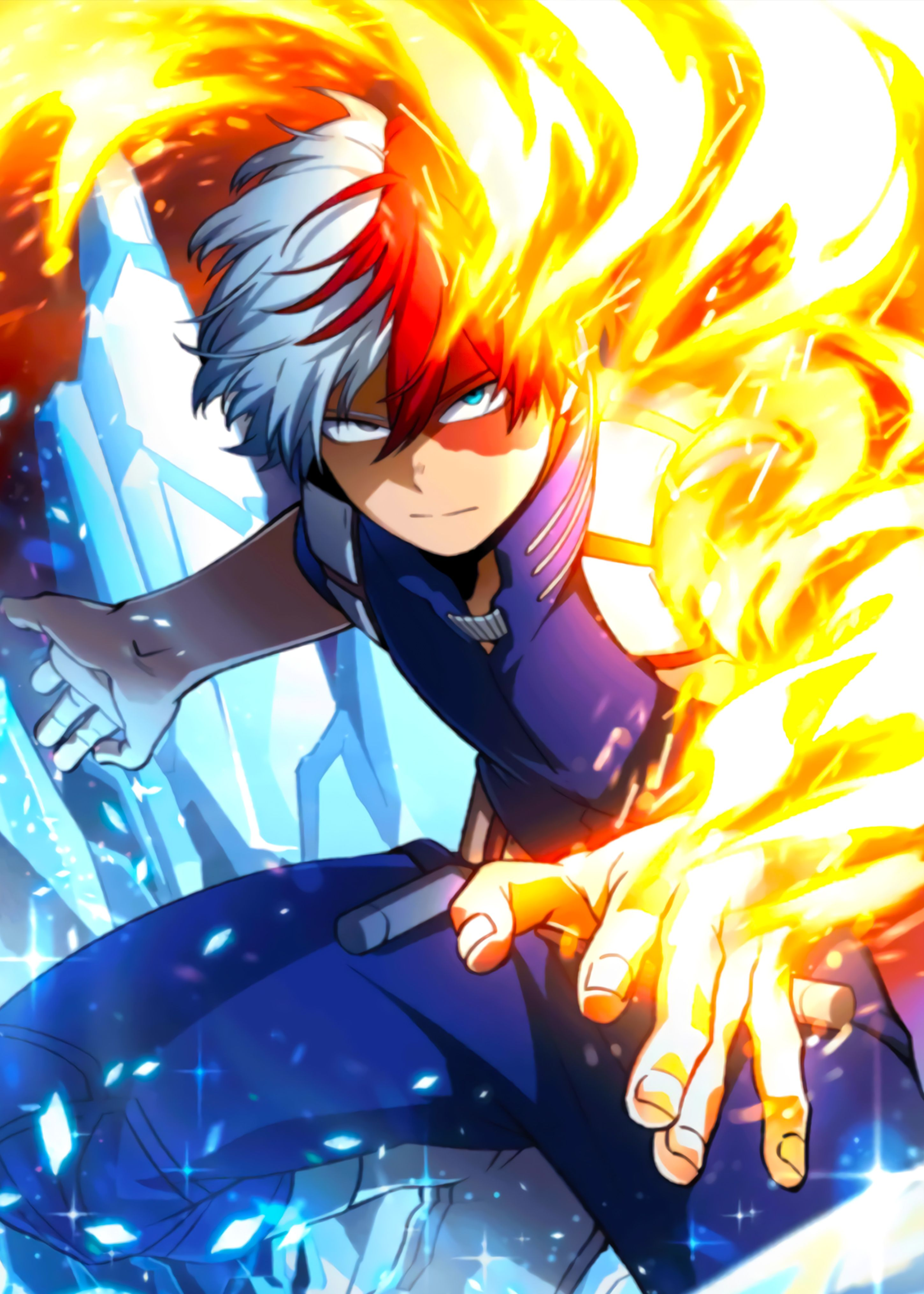 Show off your style with artwork and trending designs from independent artists across. Shoto My Hero Academia in 2020   Anime, Anime guys, Anime ...