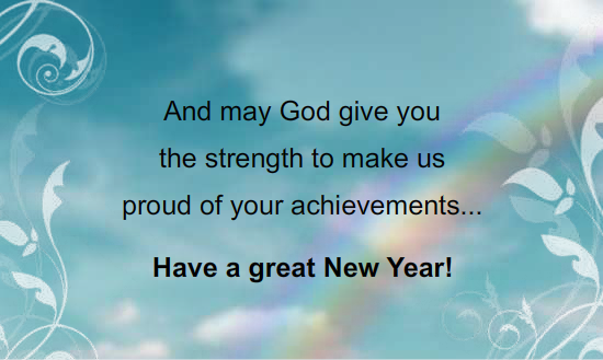 Christian New Year Messages | Inspiring... | Pinterest | New year ...