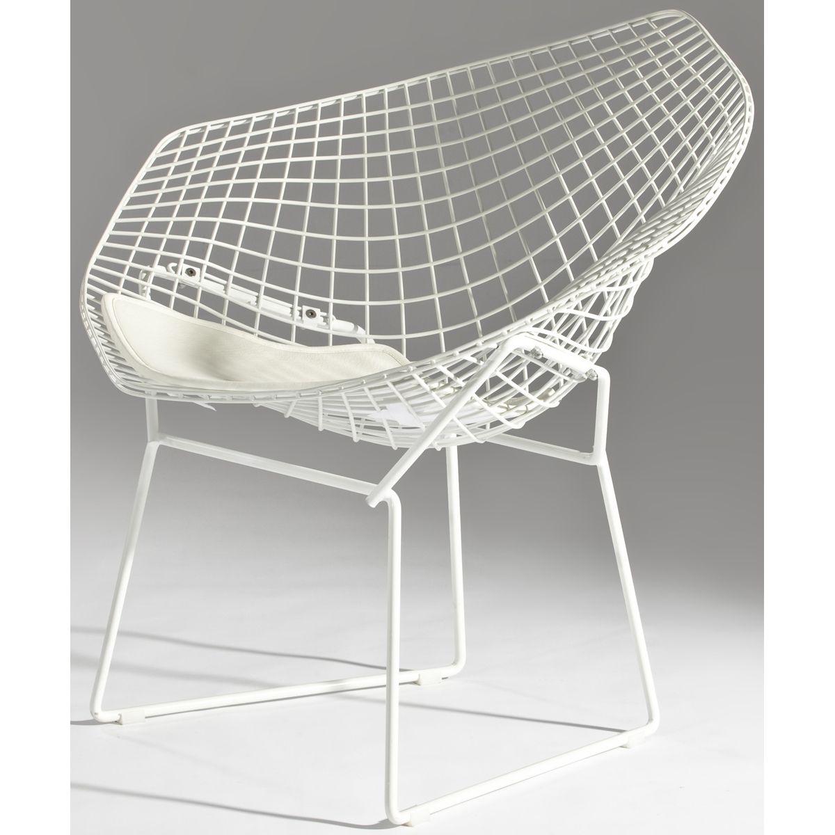 bertoia style chair. Bertoia Style Wire Diamond Chair