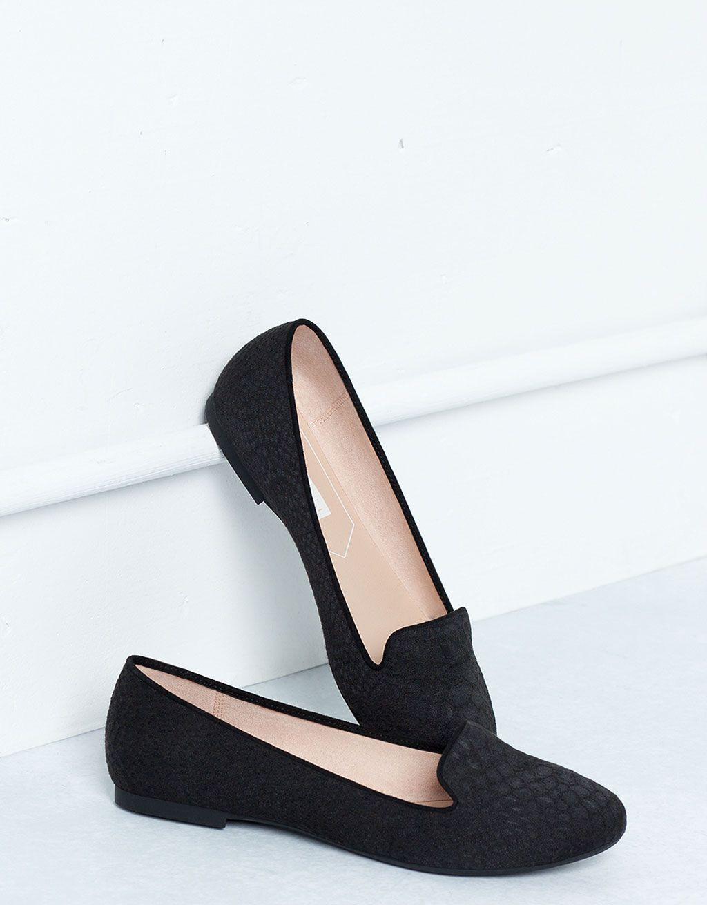 Zapato Plano Básico-Bershka