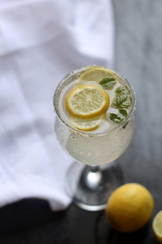 Fresh Sweet Lime Soda Recipe,  2 mediums sized limes 6 tbsp sugar or as required 1.5 cup water 1.5 cup soda / limca / lemonade (I used soda) 1 t/s cumin powder black salt or rock salt as per taste some mint leaves few ice cubes some lime slices (optional)