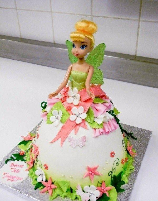 Gateau anniversaire princesse rebelle