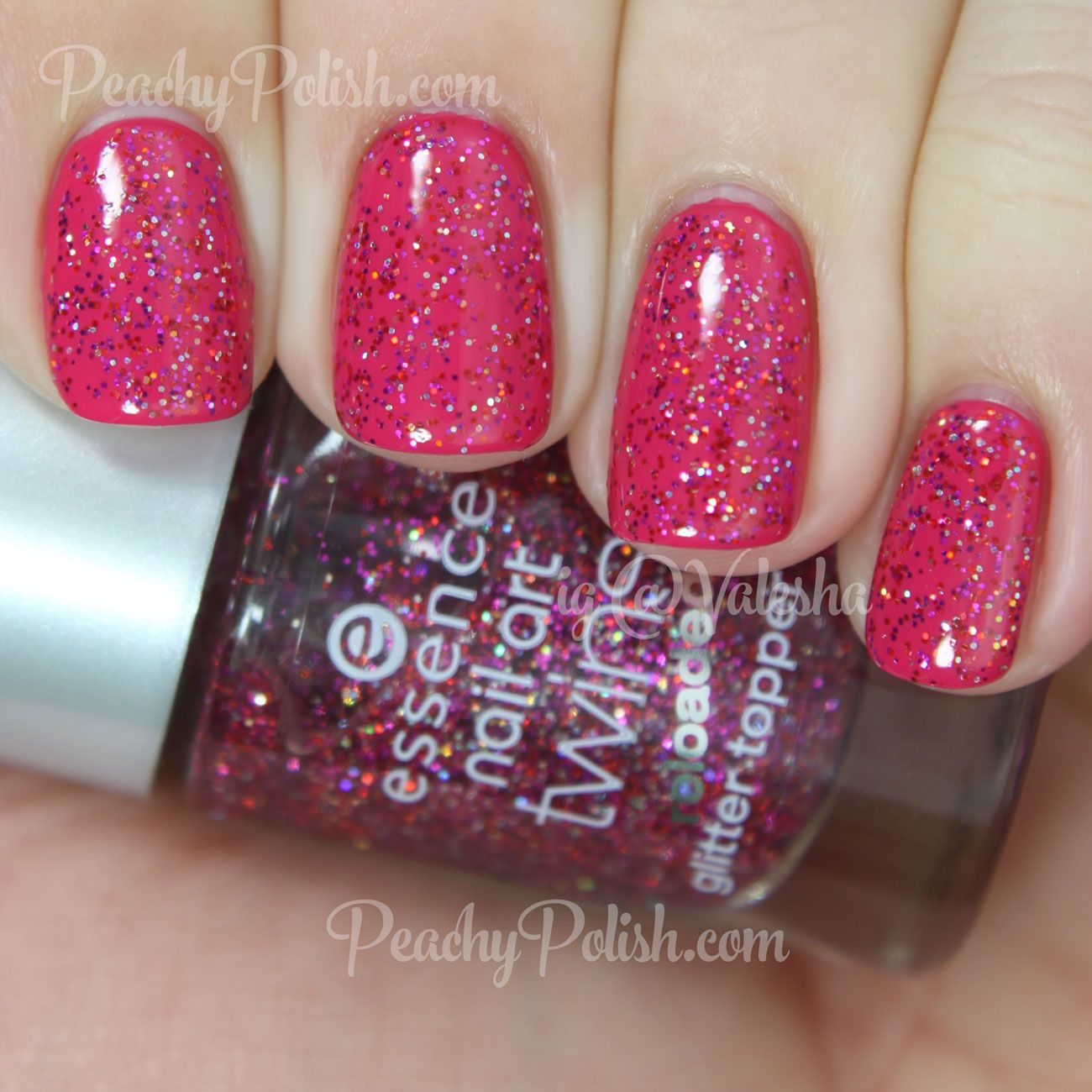 Essence Mr Big Nail Art Twins Peachy Polish Szp Krmk