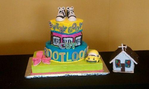 Footloose cake!