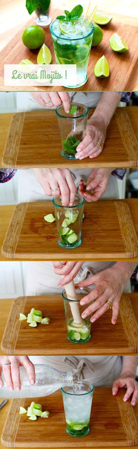 Mojito : Le vrai recette