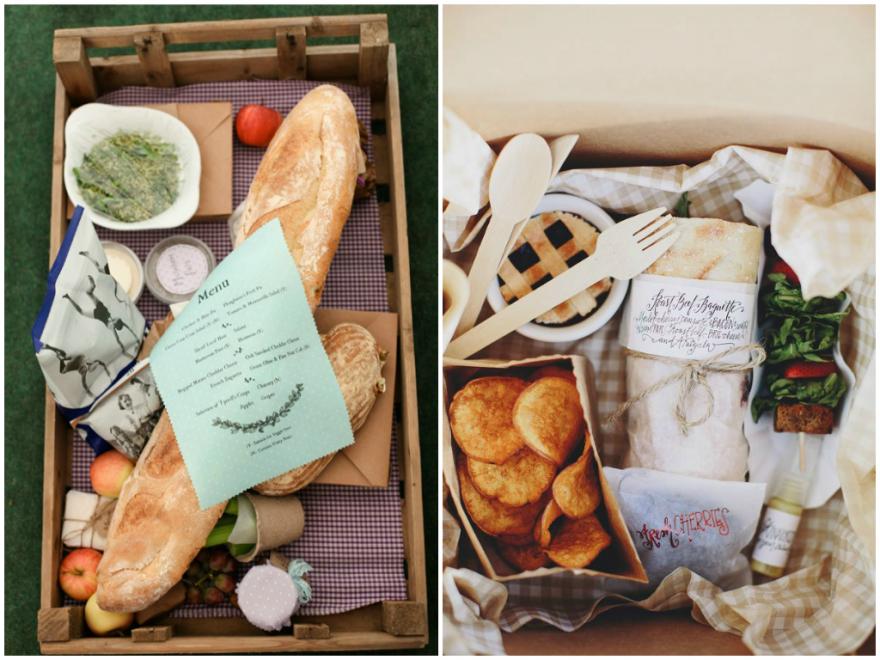 Picnic Wedding Food Ideas