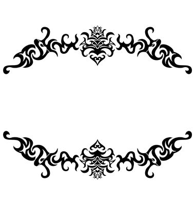 castle border design gothic frames and borders bsnaso clipartjpg 380400 tattoo