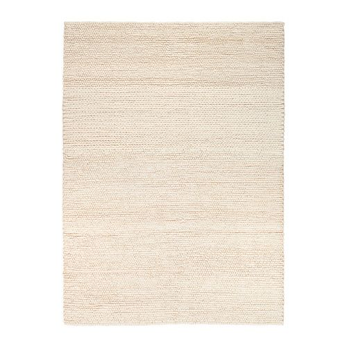 Ikea Ibsker Rug Off White 170x240 Cm Handwoven By Skilled Craftspeople And Therefore Unique