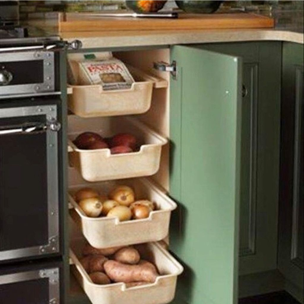 No Pantry How To Organize A Small Kitchen Without A Pantry Kitchen Storage Diy Kitchen Kitchen Design