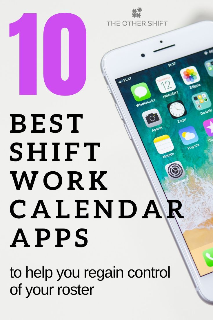 10 Best Shift Work Calendar Apps to Stop You Missing Out