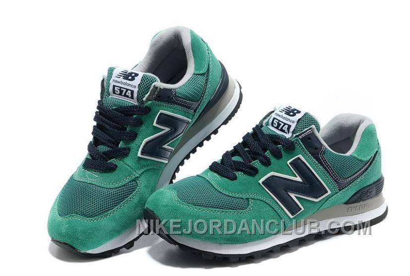new balance 574 gris vert