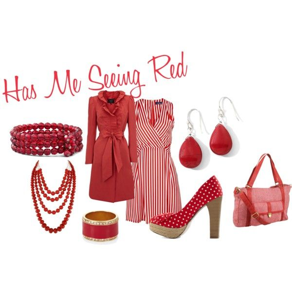 Has Me Seeing Red, created by greenkangaru on Polyvore