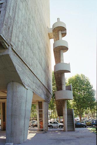 UNITÉ D'HABITATION | MARSEILLE | FRANCE: *Built: 1946-1952; Designed By: Le Corbusier; Also known as: La Cité Radieuse*