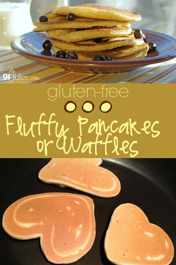 Fluffy Gluten Free Pancakes Or Waffles Recipe In 2019