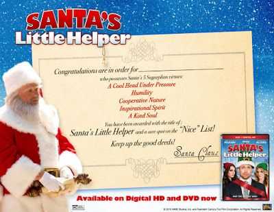 Making the Nice List with Santa's Little Helper   Fox Home Ent ...