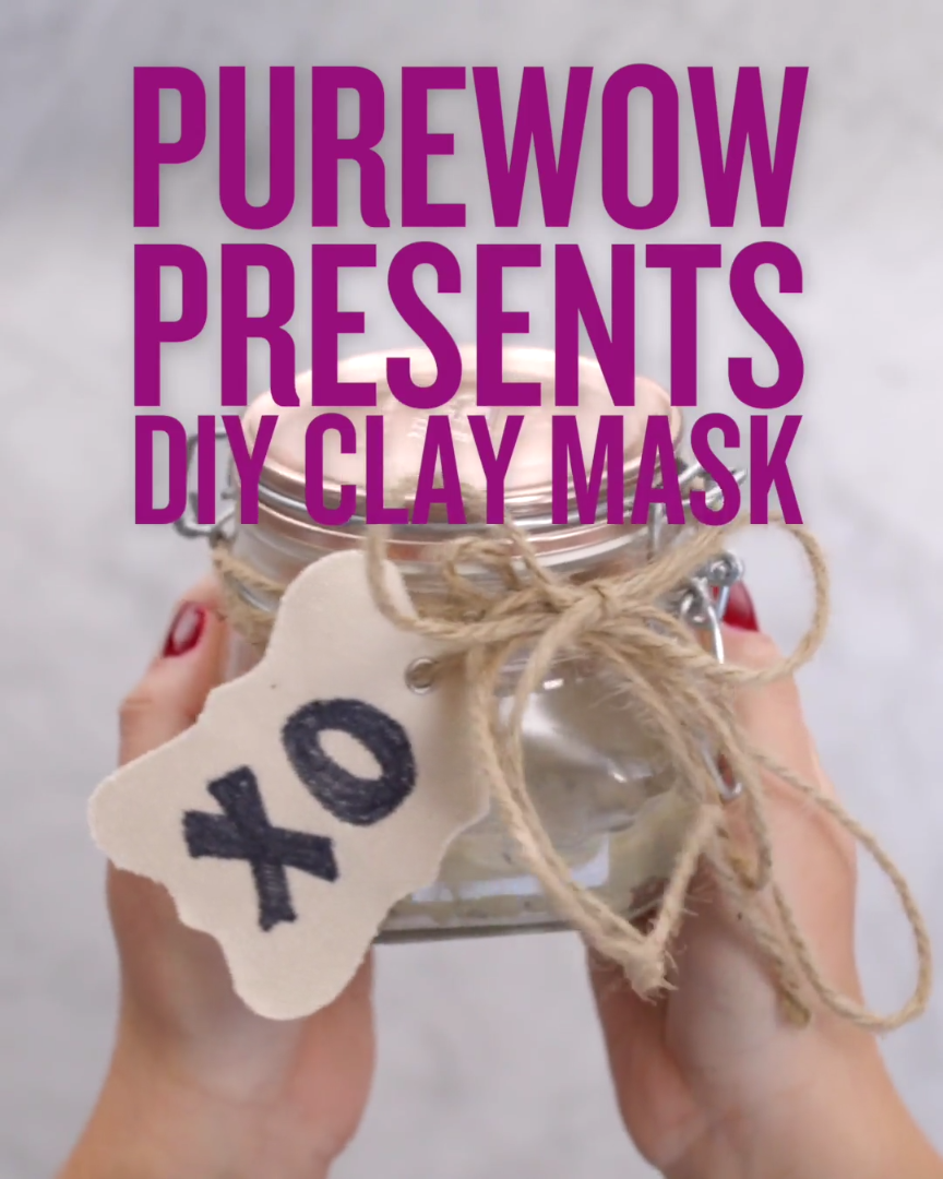 This three-ingredient clay mask is perfect for gifting this Mother's Day. The bentonite clay helps to tighten and tone while the honey soothes irritation and locks in moisture. #mothersdaygifts #diygifts #skincare #3Ingredient #beauty hacks for teens #Clay #DIY #Easy #every girl should know #Gifting #great #hacks acne #hacks eyeliner #hacks for hair #hacks makeup #hacks skincare #Mask
