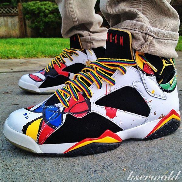 meet c7af7 59611 Air Jordan 7 Miro - Kohl Serwoki   Shoe Game Nigga   Pinterest   Air jordan,  Shoe game and Jordan sneakers