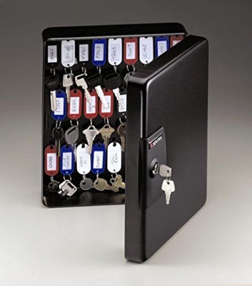 Key Storage Cabinet Safe Wall Mount Organizer Holder Rack Security Lock Box Tags Sentrysafe Key Box Key Storage Key Cabinet