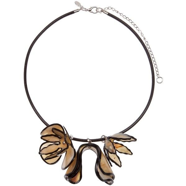 MARNI floral necklace ($465) ❤ liked on Polyvore