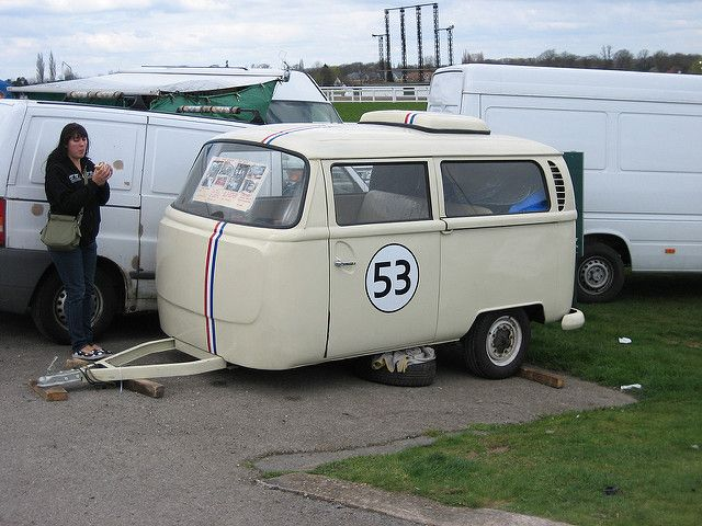 Trailers - a gallery on Flickr | Vw bus camper, Car camper, Mini ...