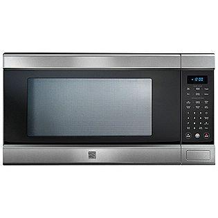 Kenmore Elite 1 5 Cu Ft Countertop Microwave W Truecookplus