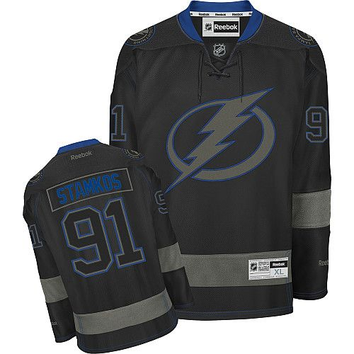 new products f78df 85bc5 Reebok Tampa Bay Lightning #91 Men's Steven Stamkos ...
