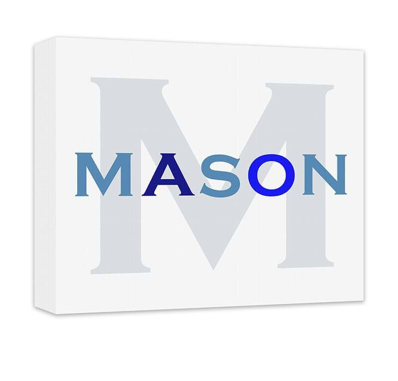 Personalized Boyu0027s Name with Monogram Canvas Wall Art  sc 1 st  Pinterest & Personalized Boyu0027s Name with Monogram Canvas Wall Art | Canvases ...