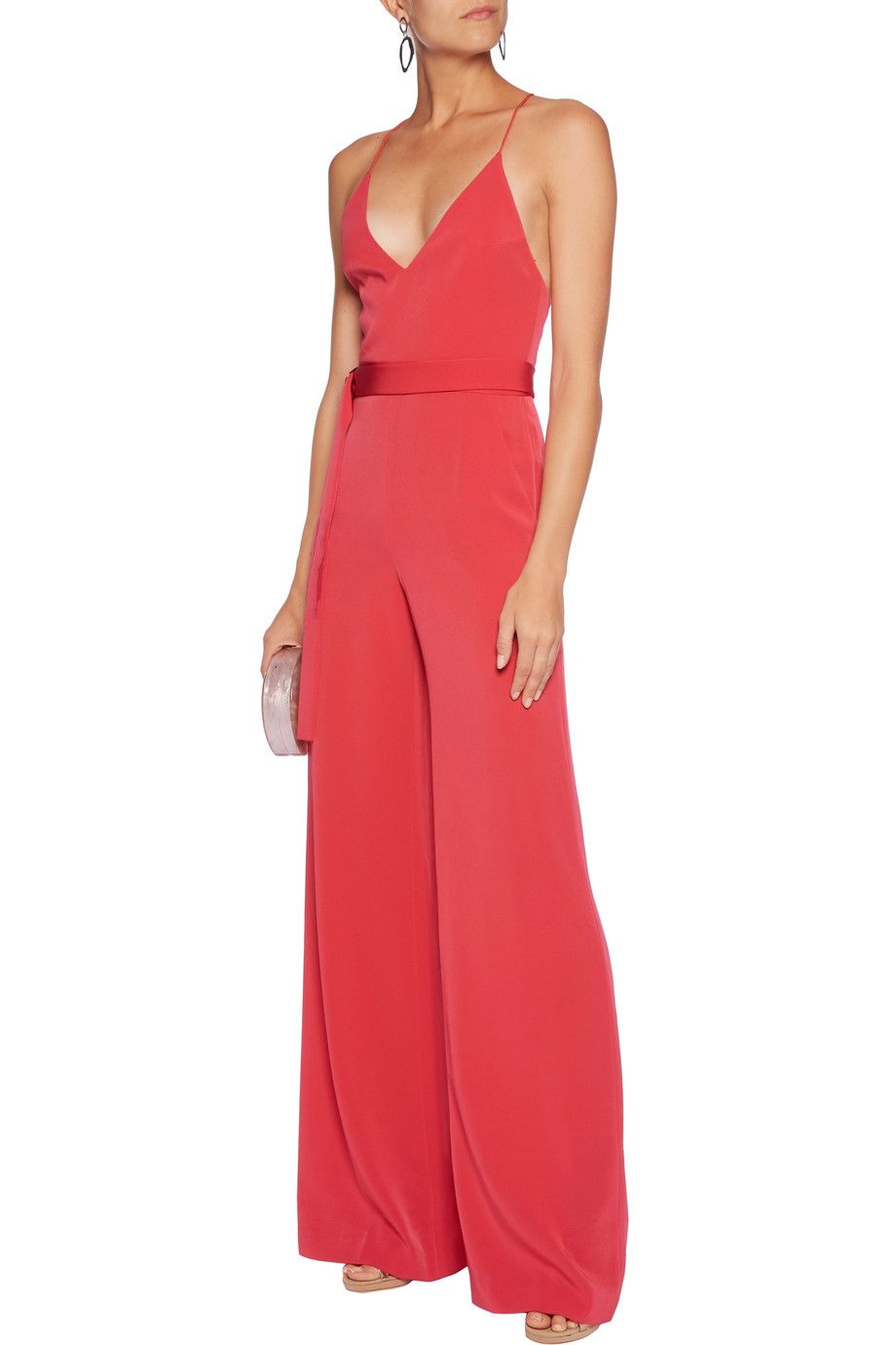 12239e356dd Shop on-sale Alexis Zaylee crepe de chine jumpsuit. Browse other discount  designer Jumpsuits   more on The Most Fashionable Fashion Outlet