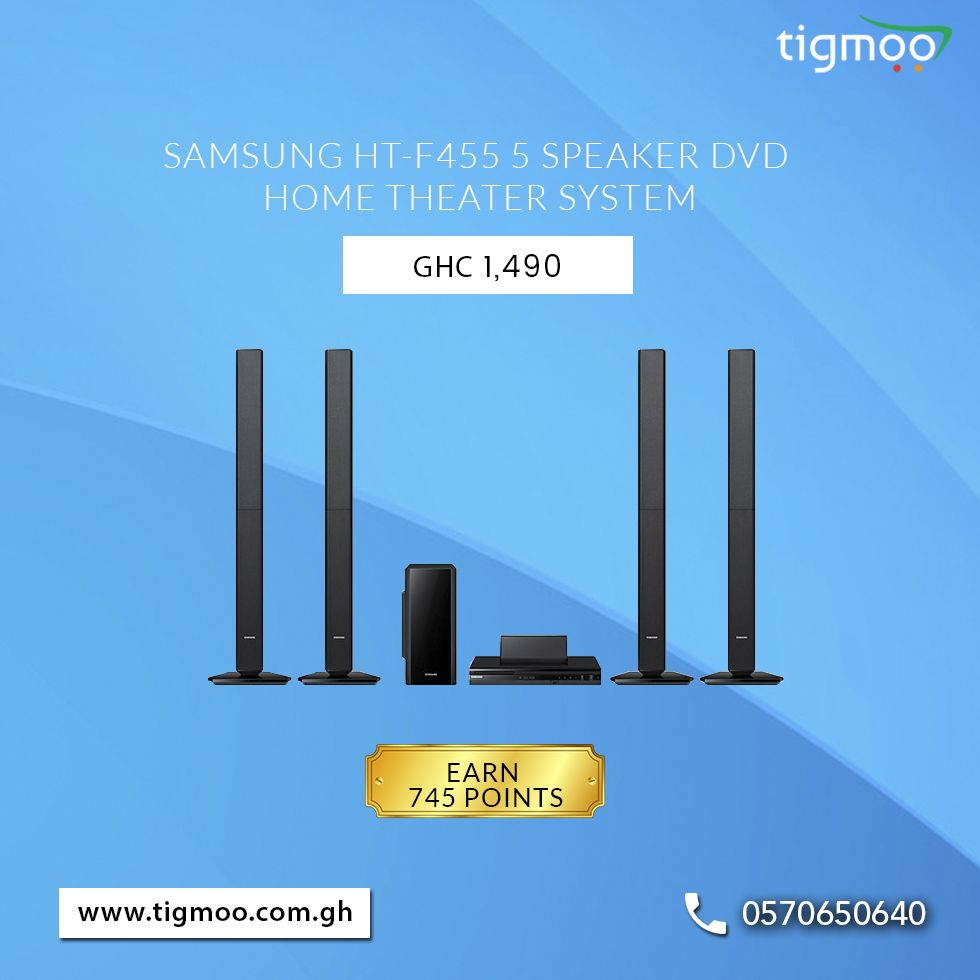 SamsungHT-F455 5 Speaker DVD #HomeTheater System available at the ...