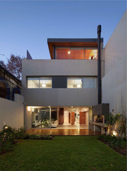 Casa Nicaragua, Buenos Aires Fachadas casas minimalistas