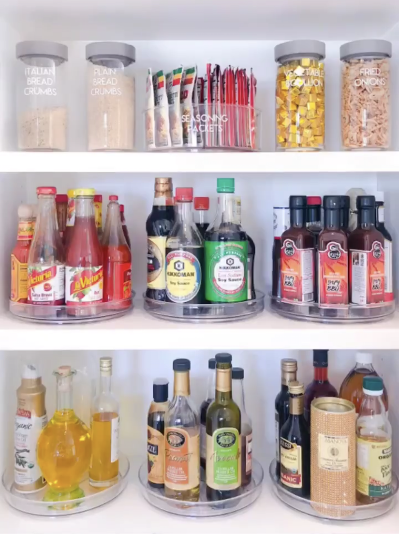 Khloé Kardashian Meticulously Reorganized Her Kitchen And It Must Be Seen To Be Believed #khloekardashianhouse