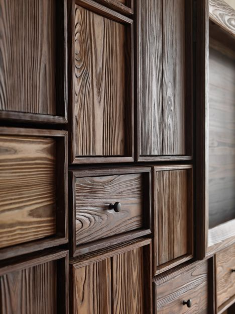 Wood Wall Paneled Design En 2019 Muebles Hierro Y Madera